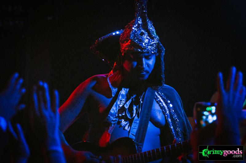 The King Khan & BBQ Show with Feeding People at the Troubadour