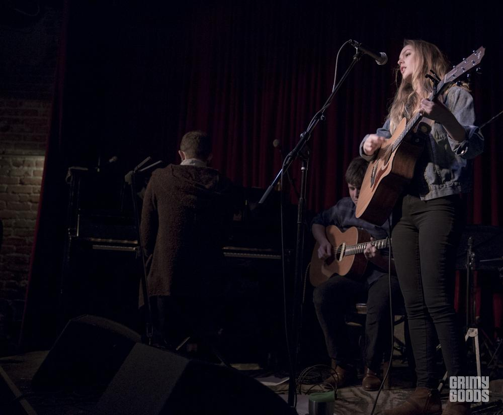 Leighton Meester, Hotel Cafe, Hollywood, Ca, photo by Wes Marsala