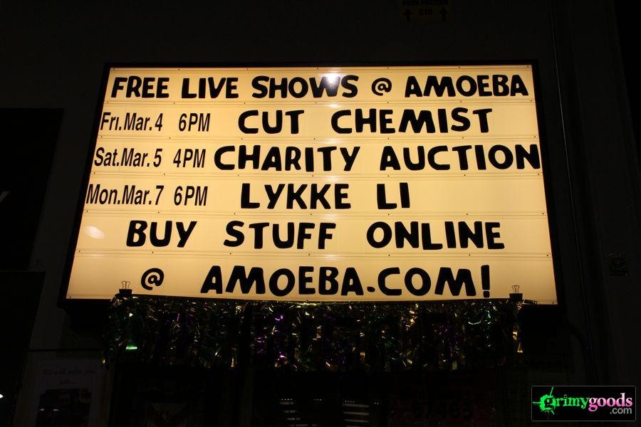 Lykke Li at Amoeba Music Hollywood