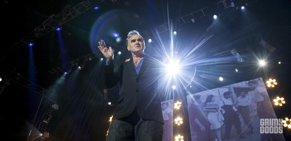 Morrissey live photos
