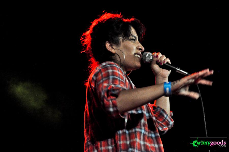 Ana Tijoux at the music box photos