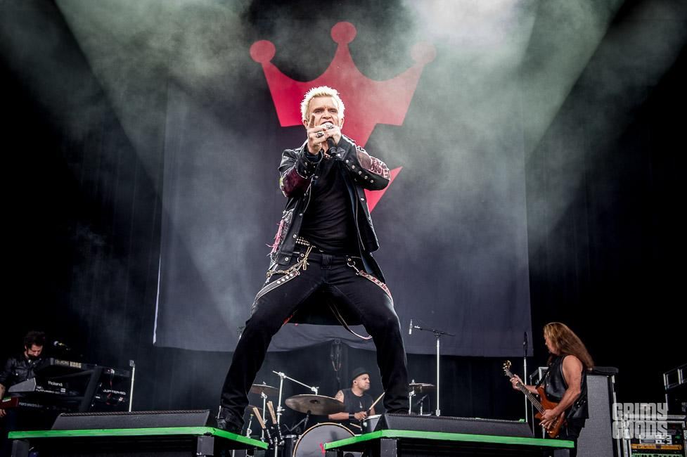 Billy Idol outside lands