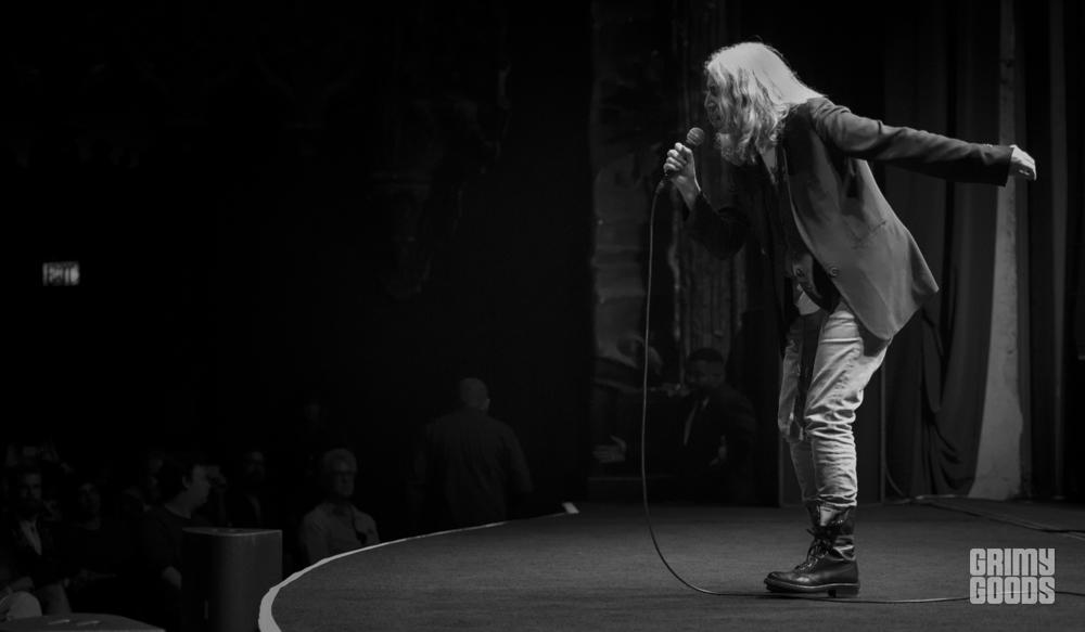 Patti Smith, Theater At Ace Hotel, Los Angeles, California, photo by Wes Marsala