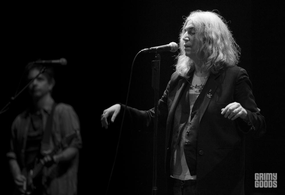 Patti Smith, The Theater at the Ace Hotel, photos by Wes Marsala