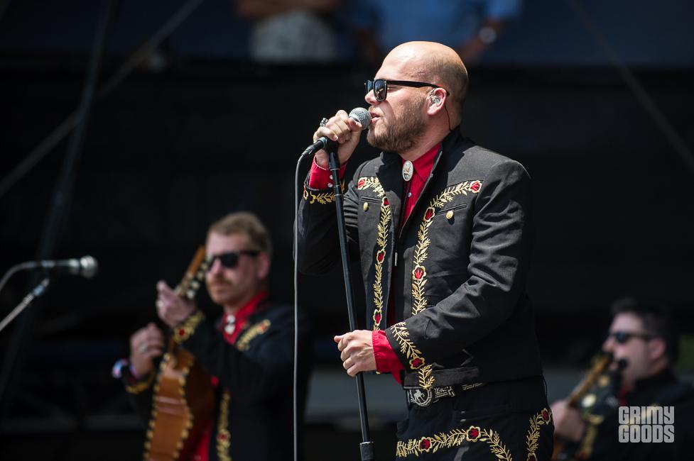 Mariachi El Bronx shaky knees fest 2015 photos