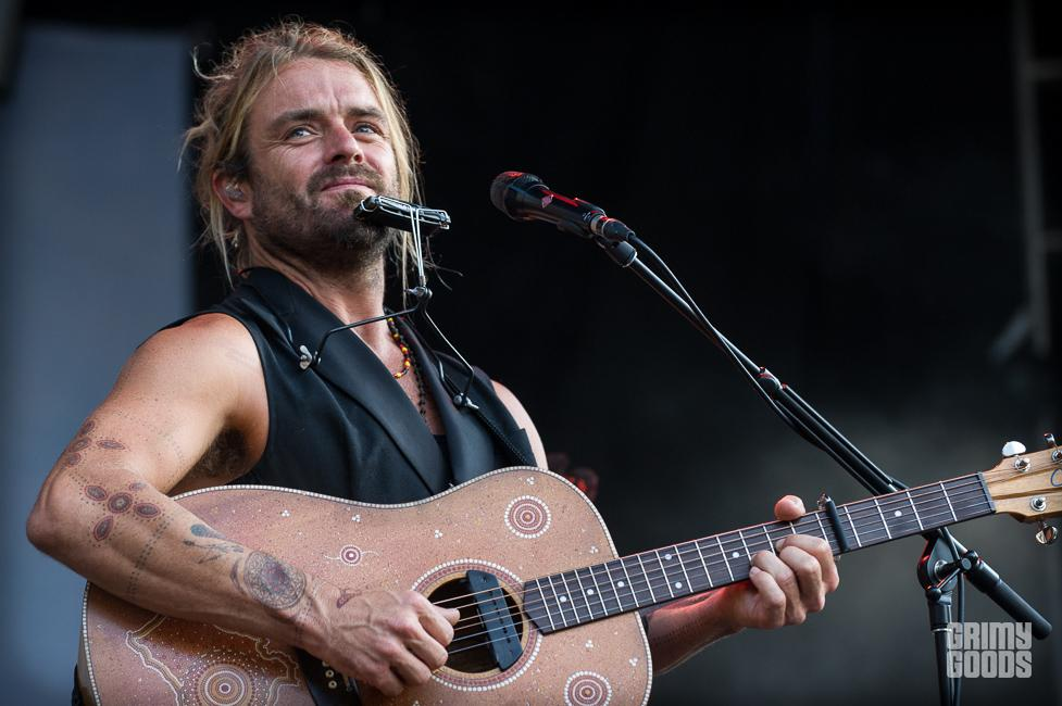 Xavier Rudd Shaky Knees Festival 2015 photos
