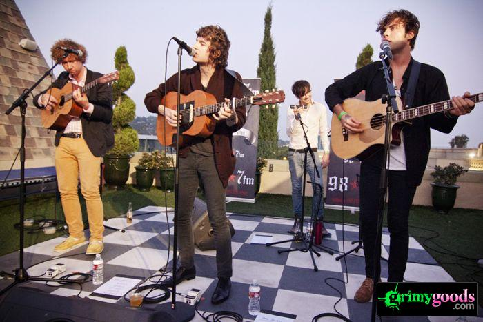 The Kooks at 98.7fm hollywood tower penthouse09