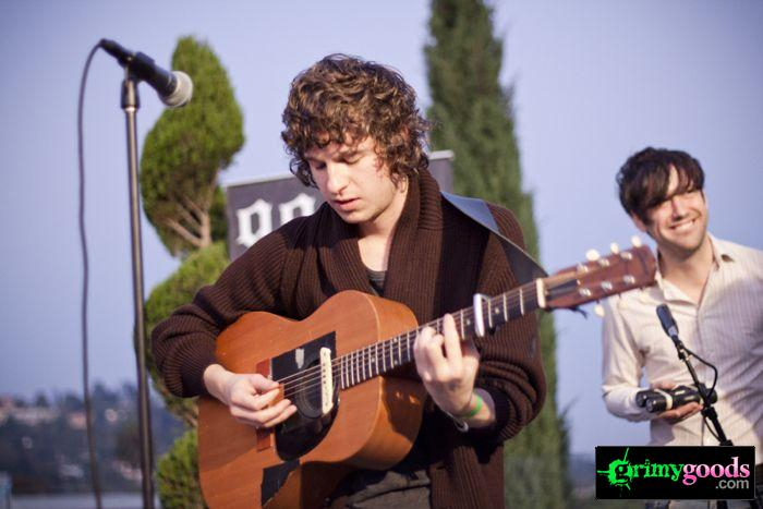 The Kooks at 98.7fm hollywood tower penthouse11