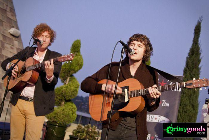 The Kooks at 98.7fm hollywood tower penthouse13