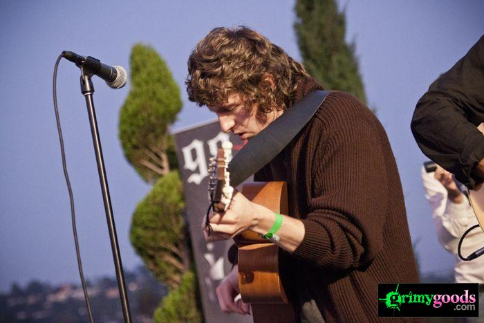 The Kooks at 98.7fm hollywood tower penthouse16