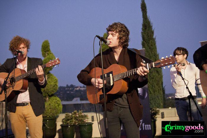 The Kooks at 98.7fm hollywood tower penthouse18