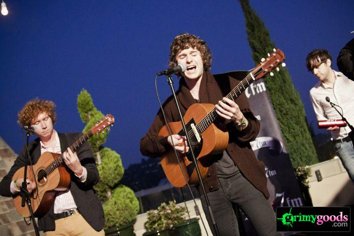The Kooks at 98.7fm hollywood tower penthouse24