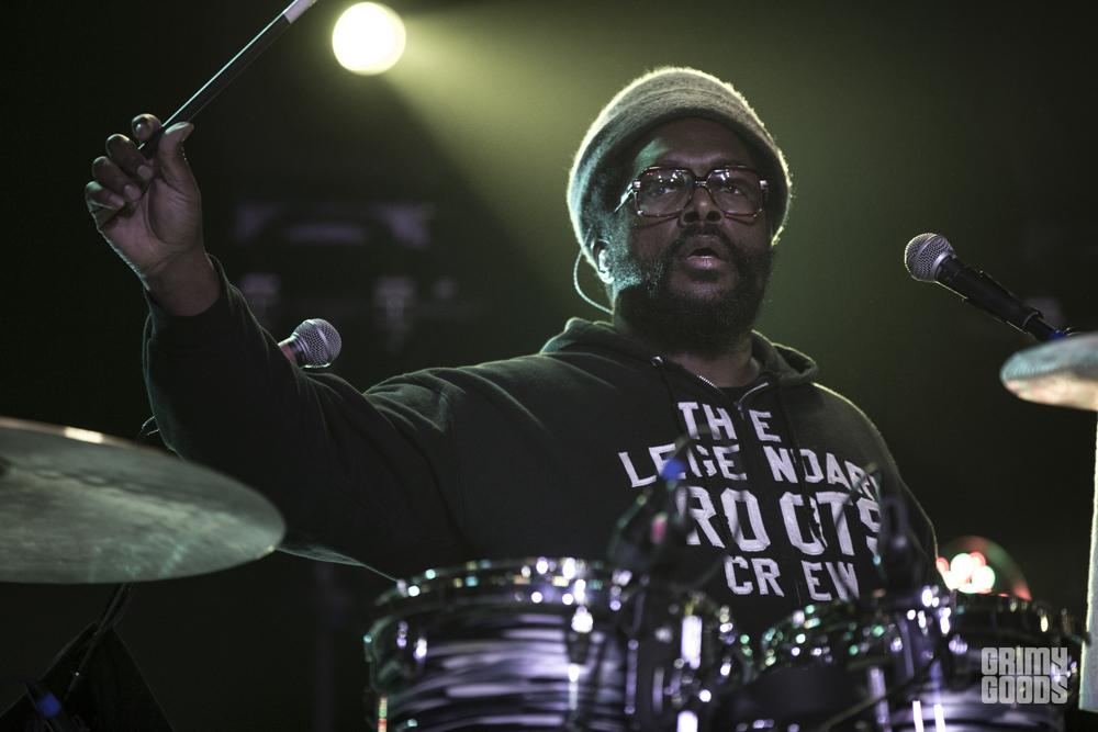 Questlove of The Roots, photo by Wes Marsala