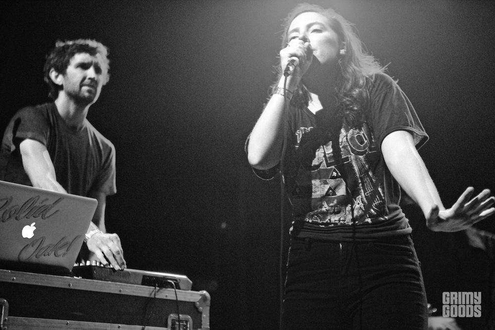 Sylvan Esso live photos