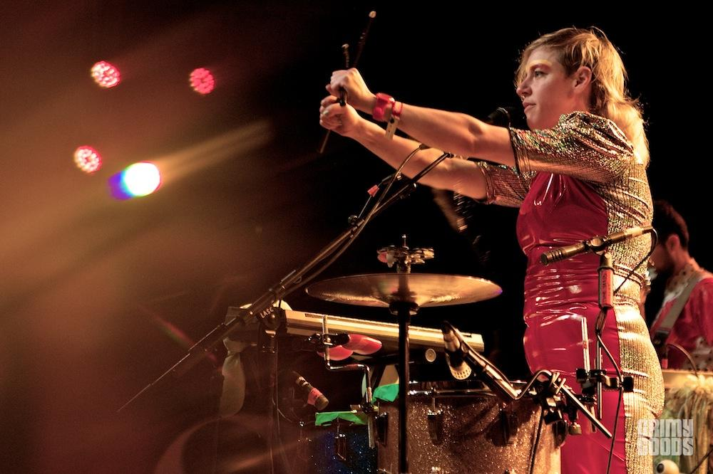 Tune-Yards live photos