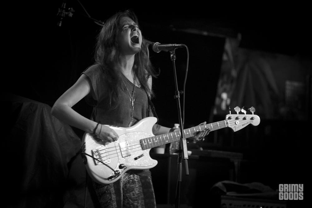 Emily Greene of Riothorse at Club Bahia, photo by Wes Marsala