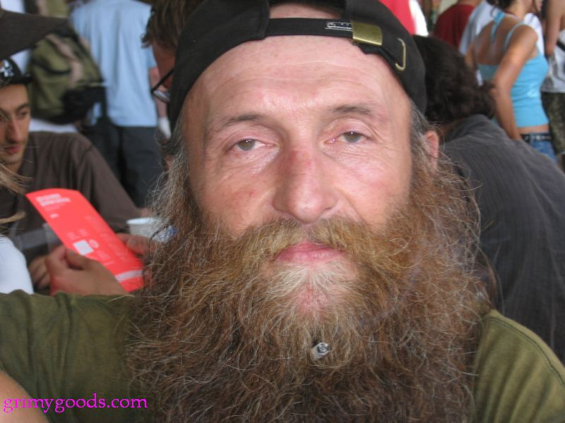 bearded cigarette holder