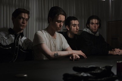 Iceage press photo by Kristian Embdal