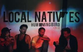 Local Natives hummingbird album cover art
