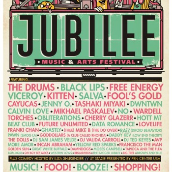 Jubilee Music and Arts festival line up