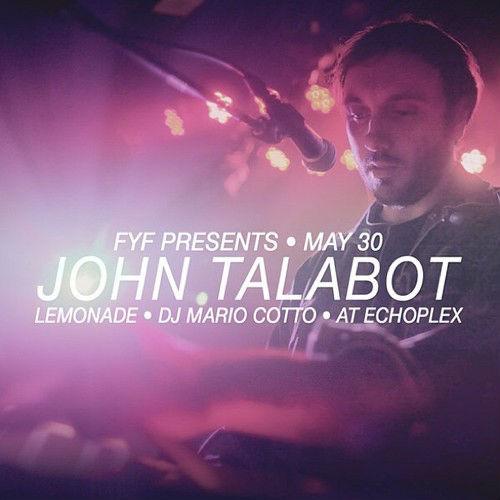 John Talabot 500px Post Photo - Flyer
