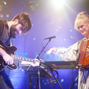 Photos- Shout Out Louds with Haerts at El Rey Theatre