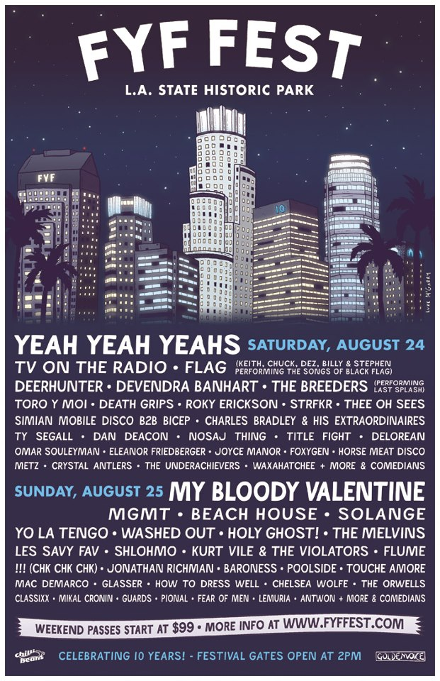 fyf fest 2013 line up2