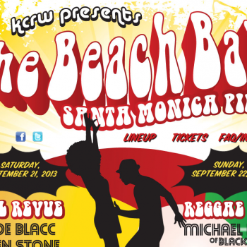 Beach Ball at Santa Monica Pier with Aloe Blacc Allen Stone