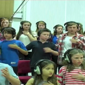 Crystal Castles Untrust Us covered by Capital Children's Choir