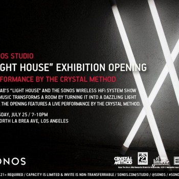 FREE Crystal Method Show at Sonos Studio