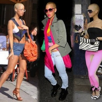 Amber Rose fashion photo