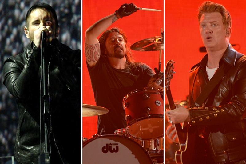 queens of the stone age trent reznor grammys