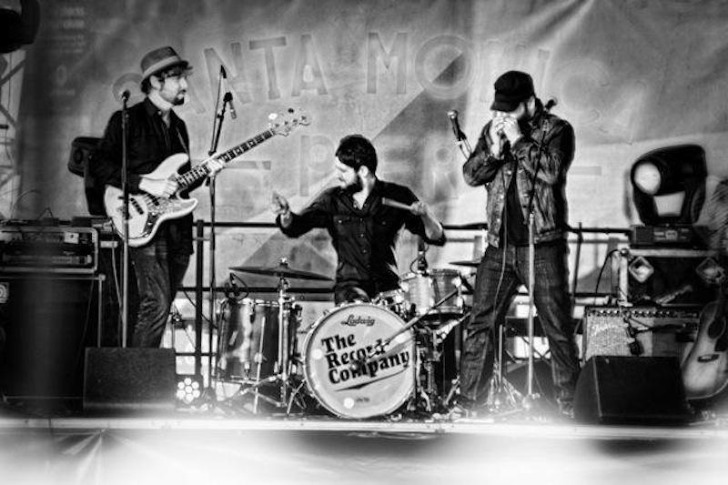 The Record Company band photos