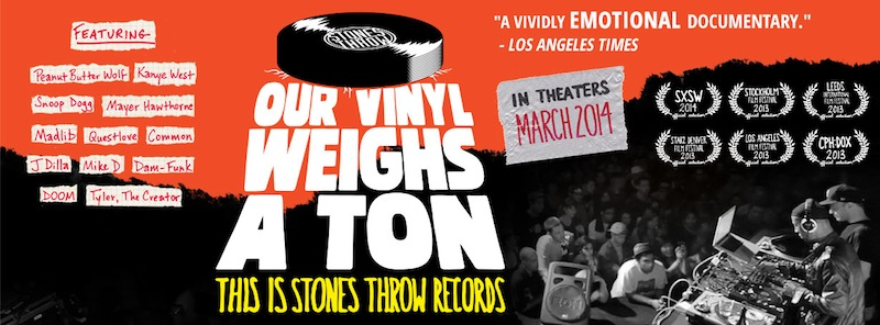our vinyl weighs a ton stones throw