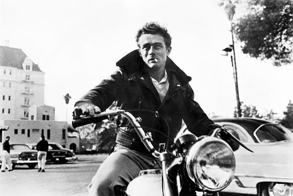 James Dean vintage leather jacket