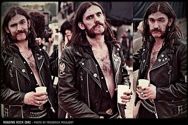 lemmy motorcycle leather jacket 1982