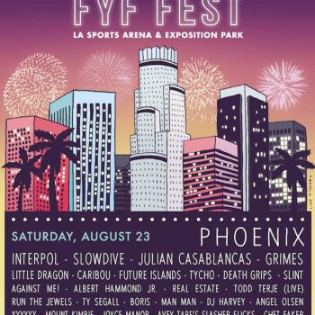 fyf fest 2014 lineup poster