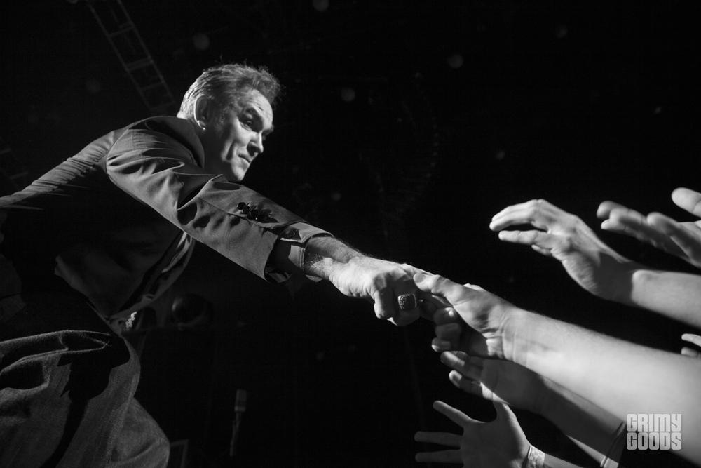 morrissey live photos fans