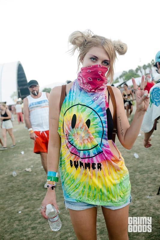 Tie dye fashion
