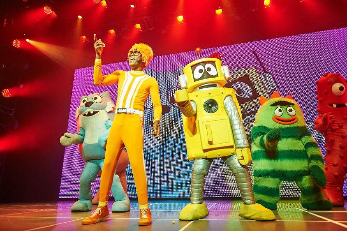Yo Gabba Gabba! Live! Photo by Jules Ameel