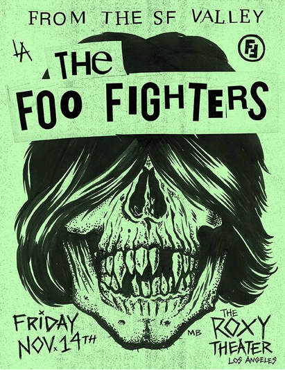 foo-fighters-secret-show-roxy-nov-14