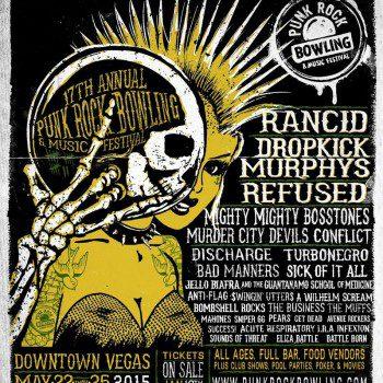 2015 punk rock bowling lineup