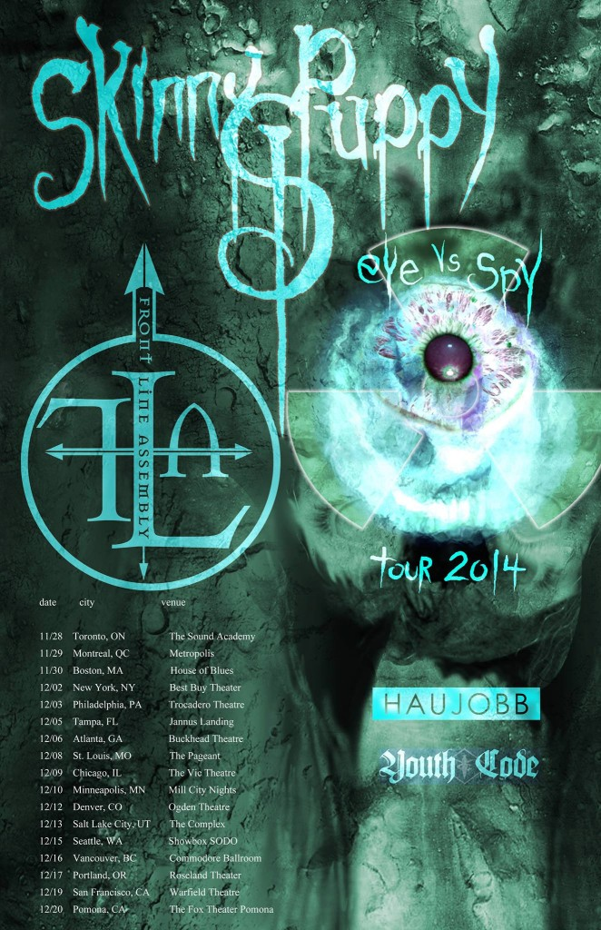 Skinny Puppy Tour Poster