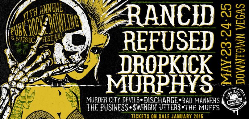 punk rock bowling 2015