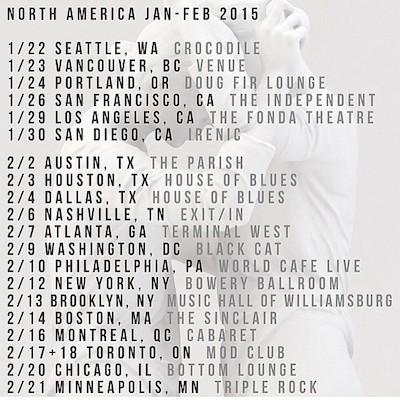 Brooke Fraser Tour Dates Flyer