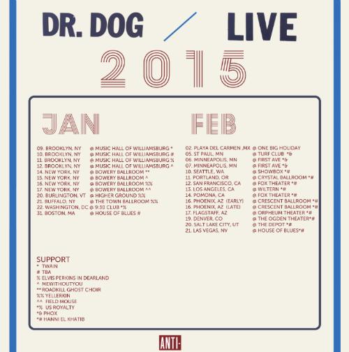 Dr Dog Tour Dates