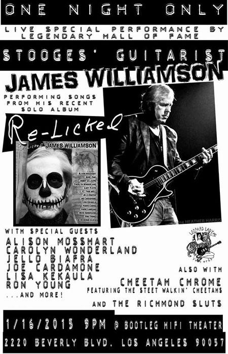 James Williamson Flyer
