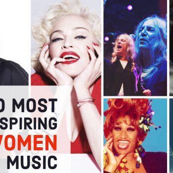 most inspiring women in music