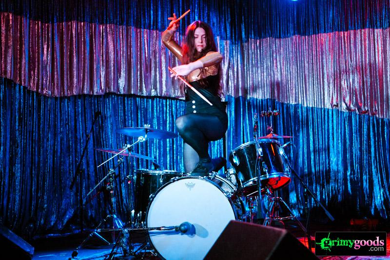 Crushed moselle best female drummers