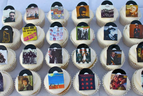 Record Store Day Cupcakes